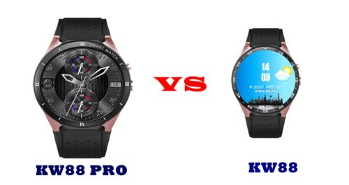 kingwear kw88 pro vs kw88 specs compared