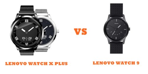 lenovo watch x plus vs watch 9 compared