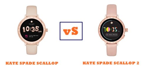 kate spade scallop vs scallop 2 specs and features compared