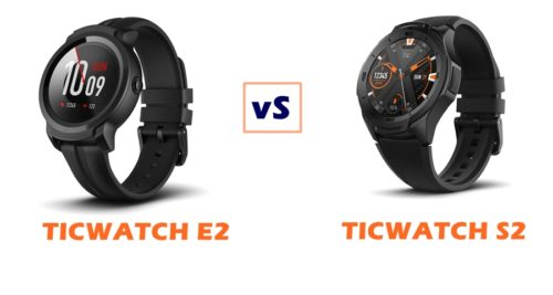 ticwatch express 2 vs sport 2 compared