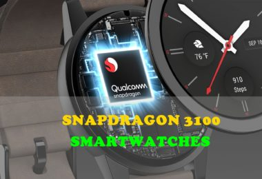 a list of snapdragon 3100 smartwatches