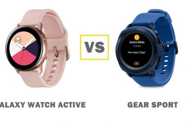 samsung galaxy watch active vs gear sport comparison