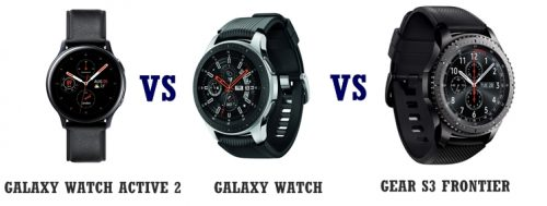 samsung galaxy watch active 2 vs galaxy watch vs gear s3