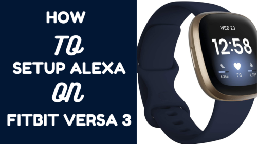 how to setup Alexa on Versa 3