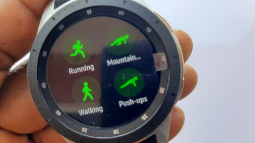 samsung galaxy watch workout modes