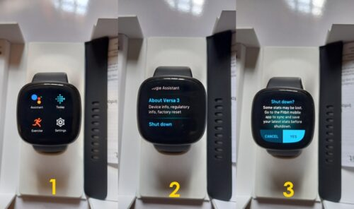 How to turn off Fitbit Versa 3 or Sense